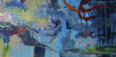 "Saatchi Online Artist April Zanne Johnson; Painting, ""Memory Cell T,B & Data, 3"" #art"