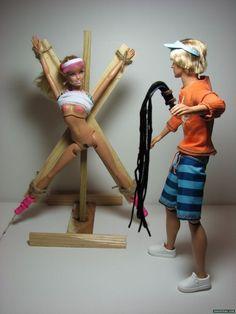 Barbie & Ken bdsm lovers