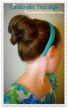 Cinderella hairstyle tutorial