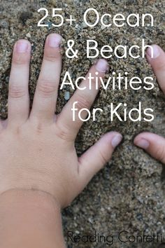 More than 25 beach and ocean activities for kids