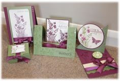 Stampin Up: Just Believe card set.