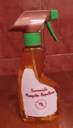 Homemade Mosquito Repellent