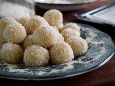 raw lemon and coconut truffles