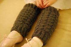 Free Little Girl Easy Crochet Legwarmer Pattern