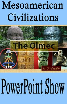 Mesoamerican Civilizations: THE OLMEC PowerPoint Presentation  Who were the Olmec and why are they so important? the Olmec were the 1st civilization in North America. They created the ball game; genetically engineered corn, peppers, and tomatoes; developed a trade route that included the Chili and Canada; created the first written American language; and their study of the stars influenced all other ancient American calendars.  44 slides $