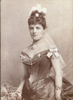 Jennie Jerome Churchill. Winston's American mother.