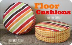 Floor Cushions - The Ribbon Retreat Blog