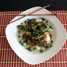 Joybee, What's for Dinner?  Recipe Remake:  Beef and Broccoli Stir Fry