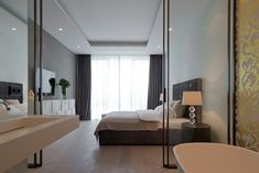 Moscowapartment 14 Smooth, Elegant and Highly Contemporary Moscow Apartment by SL project