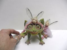FAIRIES LOVE THIS FROG