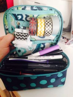 Thirty-One baubles and bracelets ... Use it to store all your planner supplies! :)