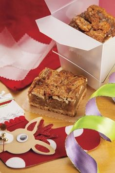 Pecan bars with a secret ingredient -- bacon!