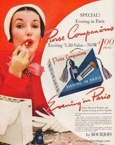 vintage perfume ads   Tumblr