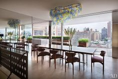 """adore decor: Penthouse em New York - """"the city is right there"""""""