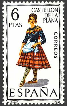 Collection of Spanish stamps:  1967 Castellón