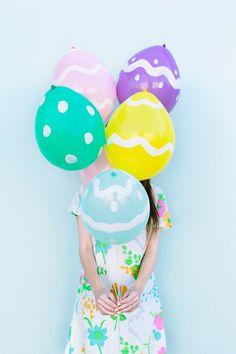 Easter egg...balloons!