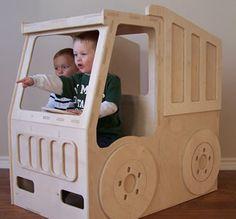 Dump Truck Toy Box - Kole would love it