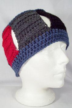 open #crochet hat by Etsy's crochethq