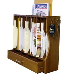 Amazon.com: Axis 790 Personal Mail Post Organizer: Home & Kitchen