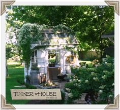 Autumn blooms at Tinker House