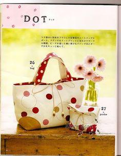 Bolsos de tela hand made