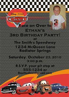 Cars birthday party theme ideas