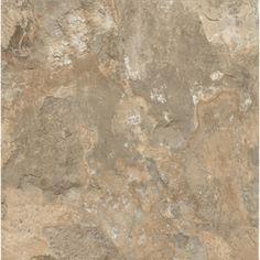 $0.86 - Armstrong 12-in x 12-in Crescendo Stone Beige Limestone Finish Luxury Vinyl Tile