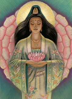 """""""You are loved ♥ """"- Kuan Yin"""