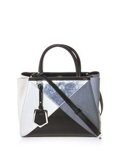 2Jours small leather tote | Fendi | MATCHESFASHION.COM