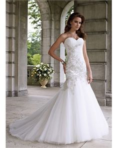 Everybody love Mermaid Wedding Dress!