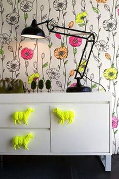 cute girls' wallpaper and sheep handles
