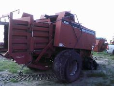 Case IH 8580 hay equipment salvaged for used parts. Call 877-530-4430. We buy salvage farm equipment. 7 salvage yards in the Midwest. http://www.TractorPartsASAP.com