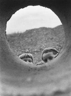 Kids, 1950s by Laszlo Csader