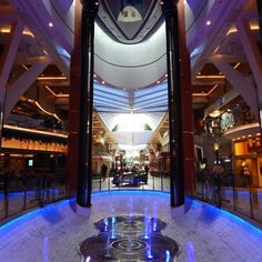 Rising Tide Bar on Oasis of the Seas. #cruise