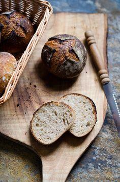 Apple Sourdough Bread Rolls | At Down Under