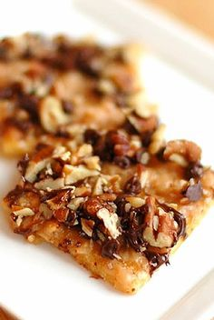This Redneck Toffee is addicting and way too easy not to add to the holiday baking plans!