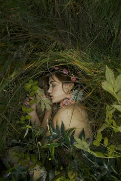 They were walking through the woods when they found a girl lying in the grass ~ #story #inspiration #character