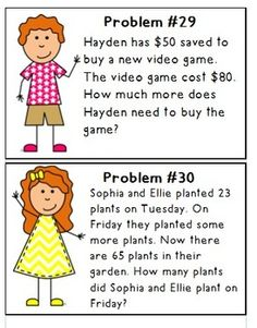 2nd Grade Story Problems - Lessons - Tes Teach