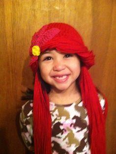 Little Mermaid Party crock pot, little mermaid birthday, birthday parties, ariel hat, ariel crochet hat, crocheted hats, the little mermaid, crochet hatsheadband, hat dress