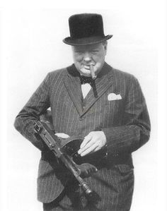 "Churchill said that  if Germany invaded Britain, his final radio address would end with: ""The hour has come; kill the Hun."""