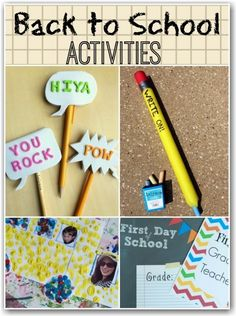 Some great ideas for going back to school here.