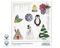 Classic Winter Digital Embellishments for StoryBook Creator
