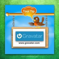 Photo: Tuesday Tool Tip: Create your own online avatar with Gravatar.com  A Gravatar is a Globally Recognized Avatar - an image that follows you from site to site appearing beside your name when you do things online (comment or post on a blog).   Have you set up your Gravatar?