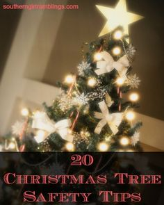 20 Christmas Tree Safety Tips from Southern Girl Ramblings