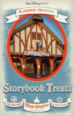 Walt Disney World Planning Pins: Storybook Treats