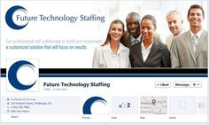 Great Facebook Timeslines in the Staffing Industry: Future Technology staffing has a great looking cover image and icon. Their brand new website also looks amazing!