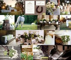 country wedding inspiration...this will be mine someday!! <3