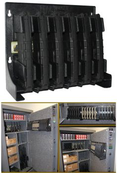 Store 6 AR15 mags http://www.exploreproducts.com/magstoragesolutions-ar15-magazine-storage-rack.htm