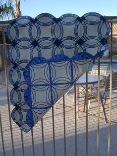 Beautiful in the hoop quilt