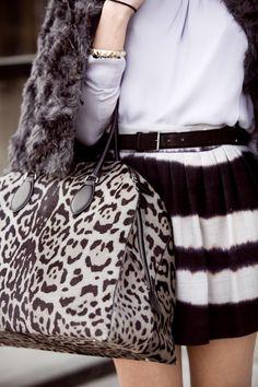 Givenchy - Leopard Antigona Bag